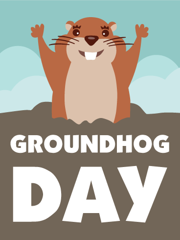 Groundhog Day PNG HD