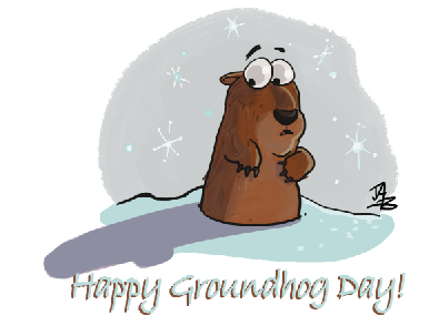 Groundhog Day and So Much More - Groundhog Images PNG HD