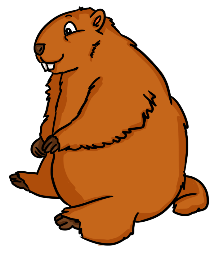 Free Groundhog Day Cliparts - Groundhog PNG HD