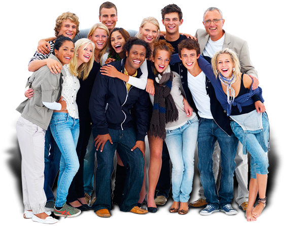 Group Of Friends PNG HD-PlusPNG.com-564 - Group Of Friends PNG HD