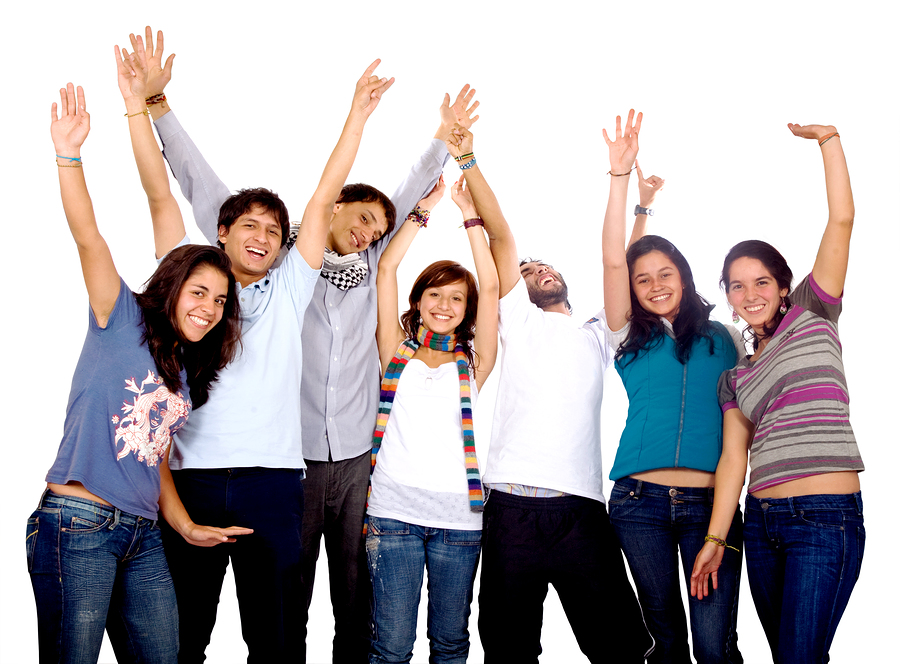 high school friends - Group Of Friends PNG HD