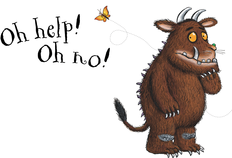 It looks like youu0027ve found a bug in the site. Try returning to the homepage  and starting again. - Gruffalo PNG