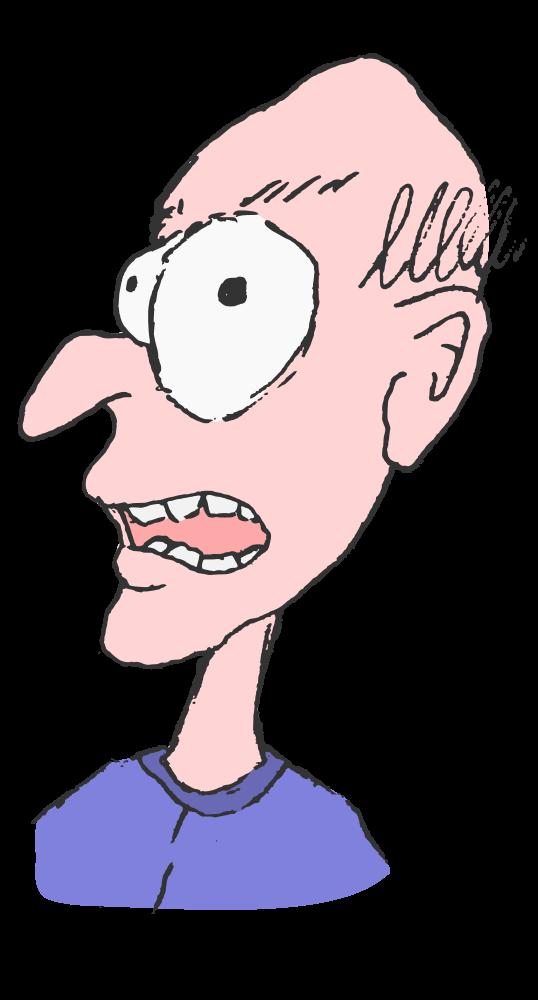 Grumpy Old Man Cartoon - Grumpy Old Man PNG