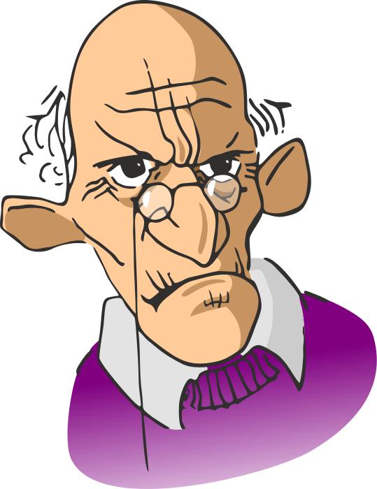 Grumpy Old Man PNG - 47941