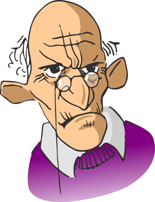 grumpy old man - /cartoon/people/men_cartoons/old_men/grumpy_old_man.png .html - Grumpy Old Man PNG