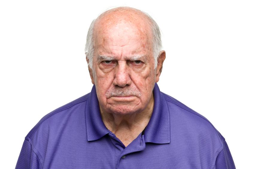 Grumpy Old Man PNG - 47944