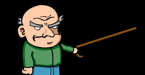 Grumpy Old Man PNG