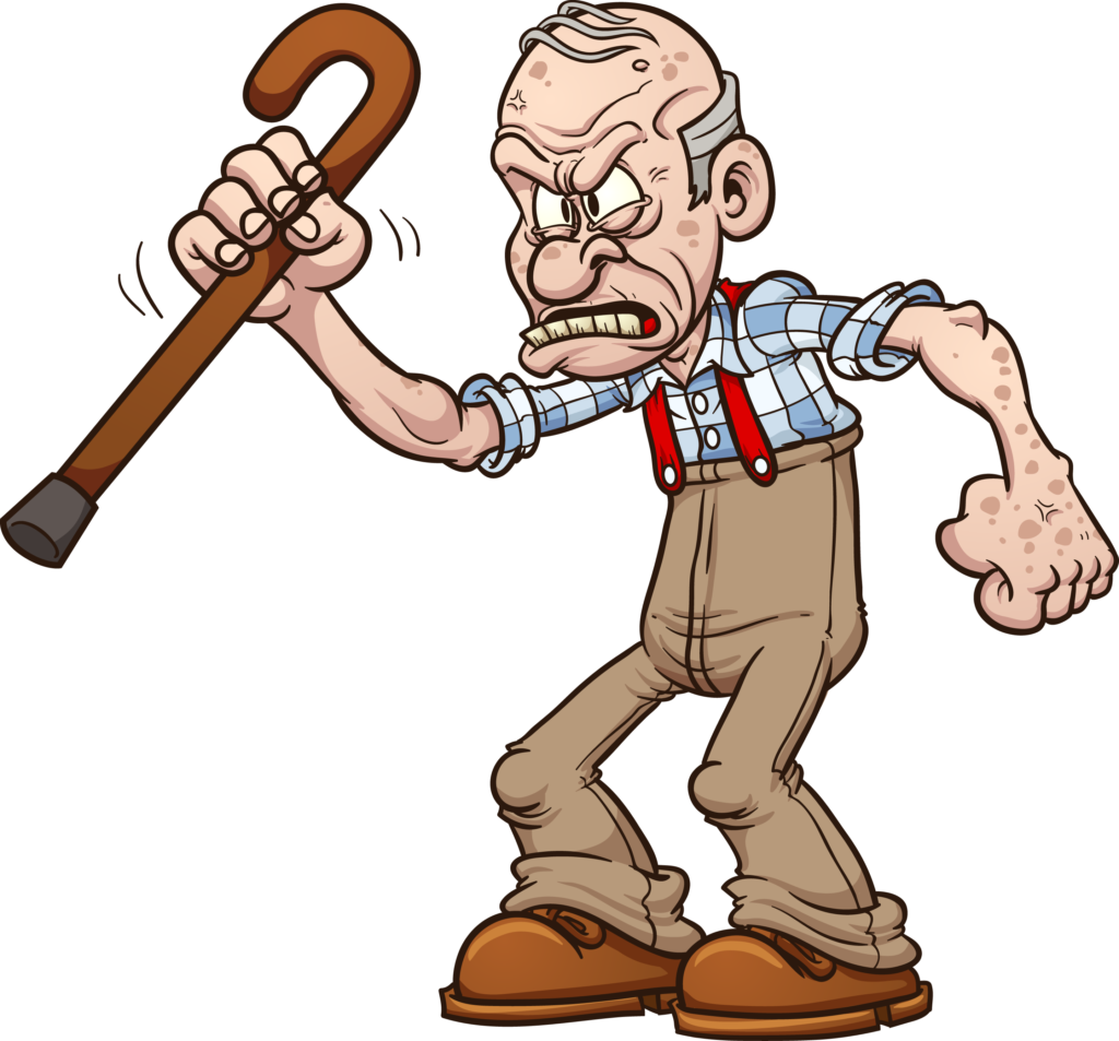 grumpy old person. Often we see people who, in their early life, have a  sympathetic and positive mind. But, 20 or 30 years later, those positive  qualities PlusPng.com  - Grumpy Old Man PNG
