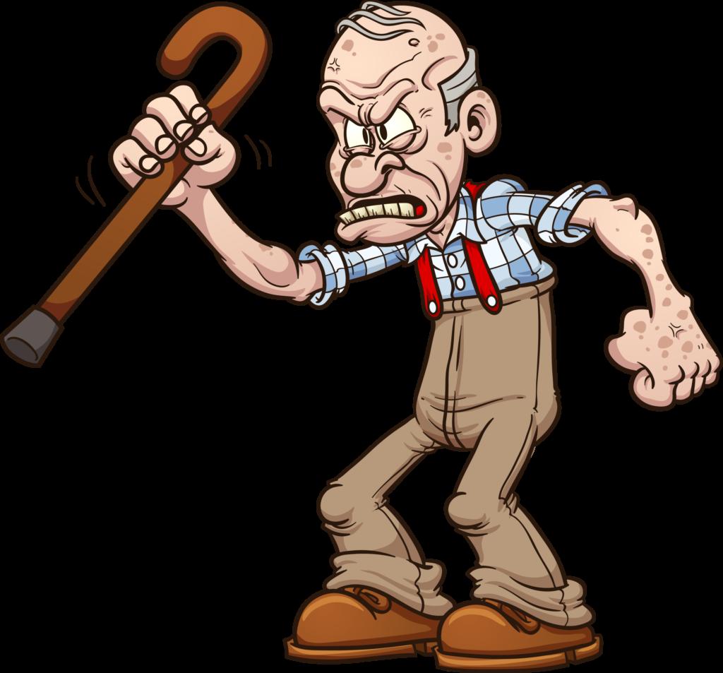 Grumpy Old Man PNG - 47938