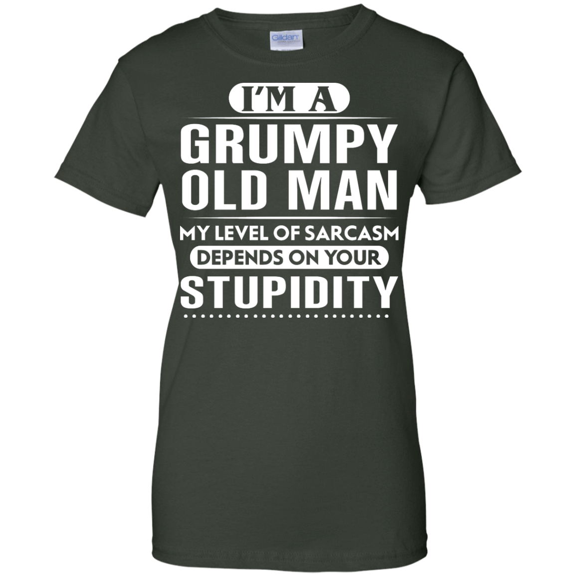 Iu0027m A Grumpy Old Man My Level Of Sarcasm Depends On Your Stupidity Shirt,  Hoodie, Tank - Grumpy Old Man PNG