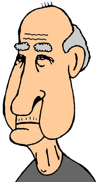 Grumpy Old Man PNG - 47948
