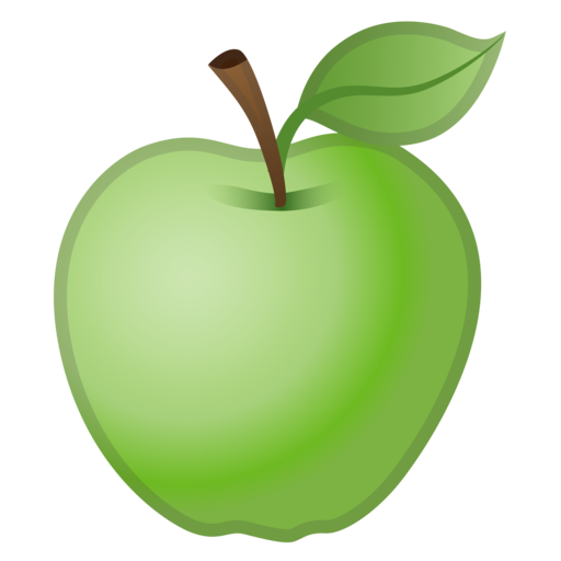 Google (Android 8.0 Oreo) - Gruner Apfel PNG