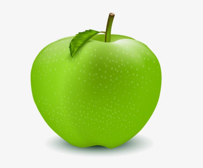 Handbemalte Grüner apfel, Grüne äpfel, Apple, Handbemalte Apple PNG Bild  und Clipart - Gruner Apfel PNG