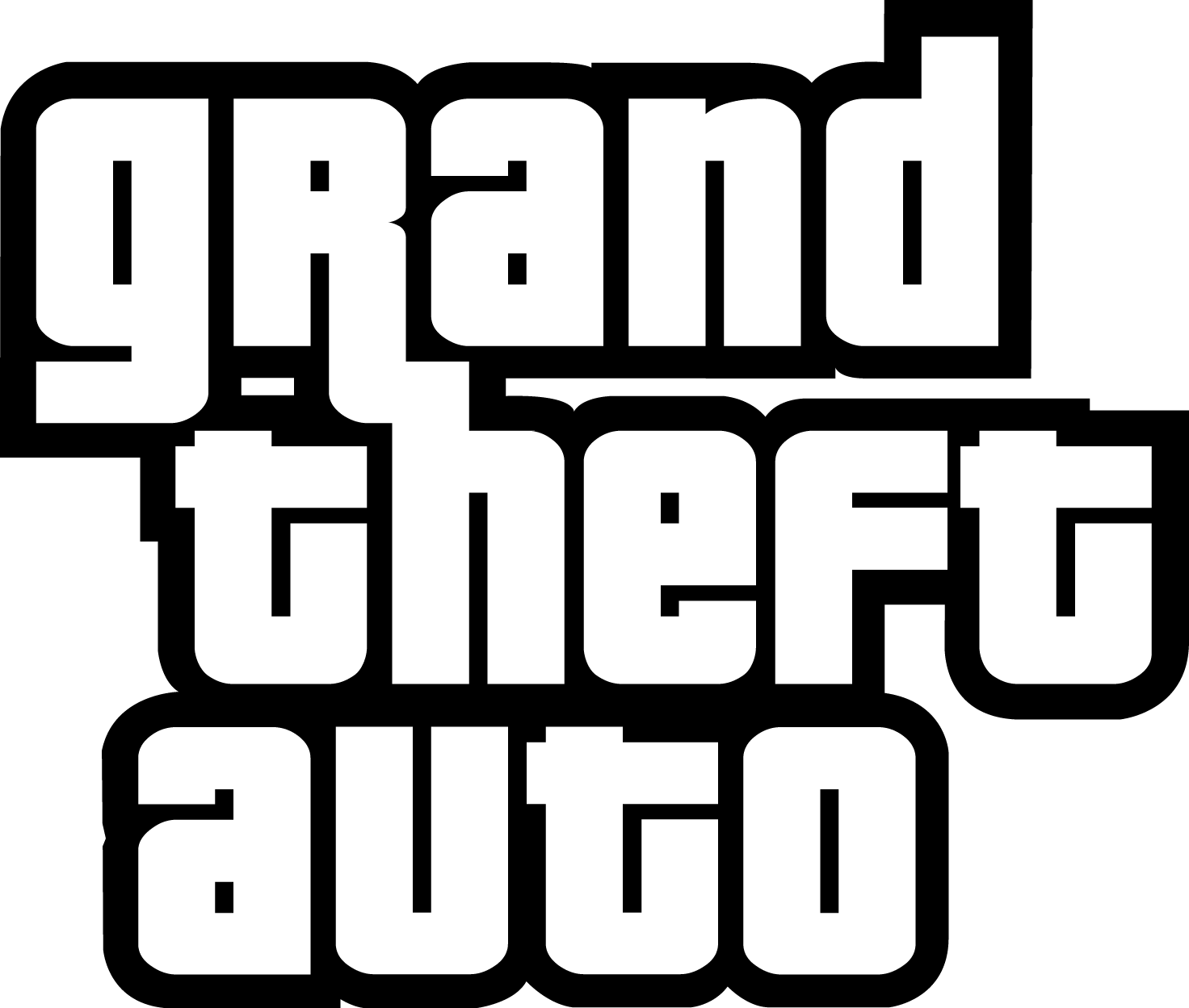 GTA Logo [Grand Theft Auto - PDF] PNG Free Downloads, Logo Brand Emblems - Gta PNG