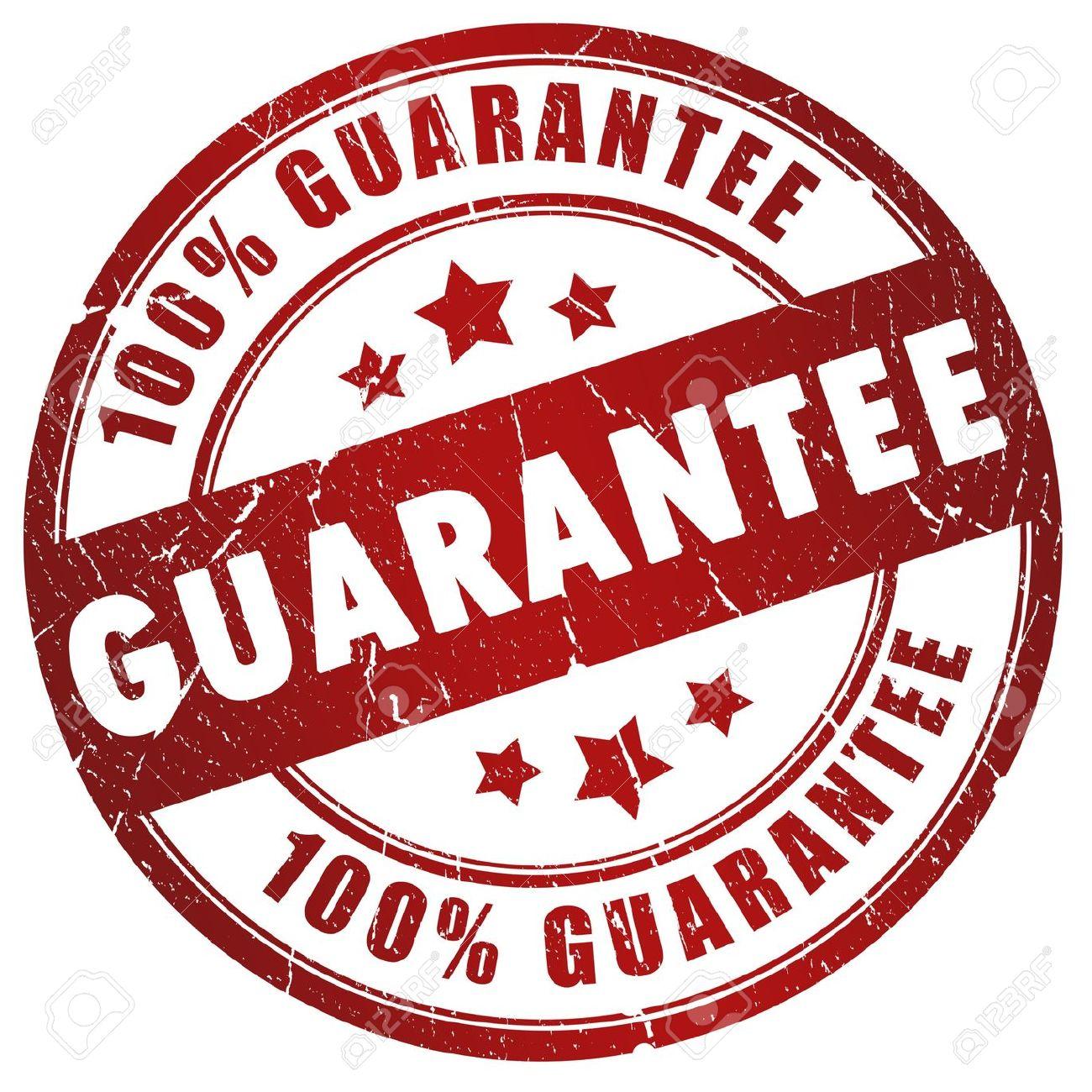 Guarantee PNG - 6439