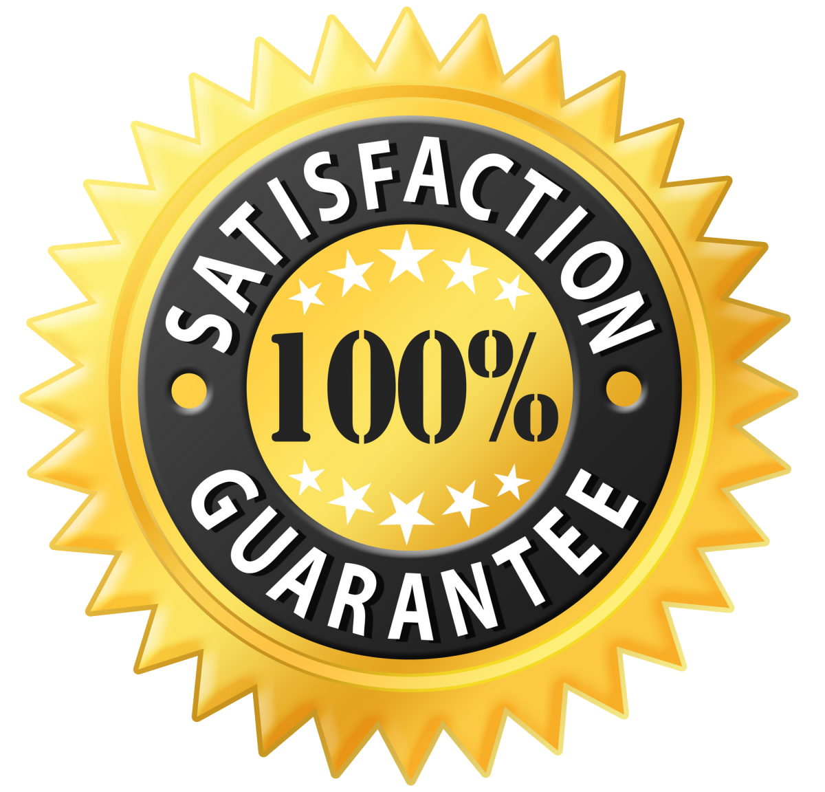 Image result for satisfaction guaranteed png