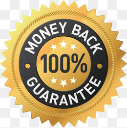 money,back,100%, Money, Back, 100% PNG and PSD - Guarantee PNG