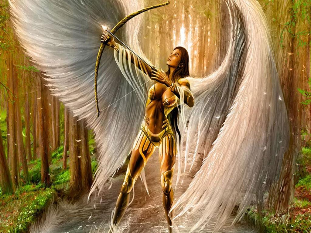 Female Warrior Angels | Angel Warrior - Fantasy Wallpaper (23124547) -  Fanpop fanclubs - Guardian Angel PNG HD