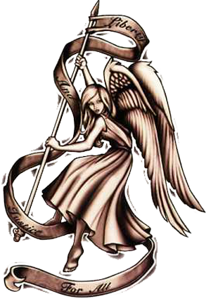 Guardian Angel Tattoo Designs- High Quality Photos and Flash Designs of Guardian  Angel Design Tattoos - Guardian Angel PNG HD