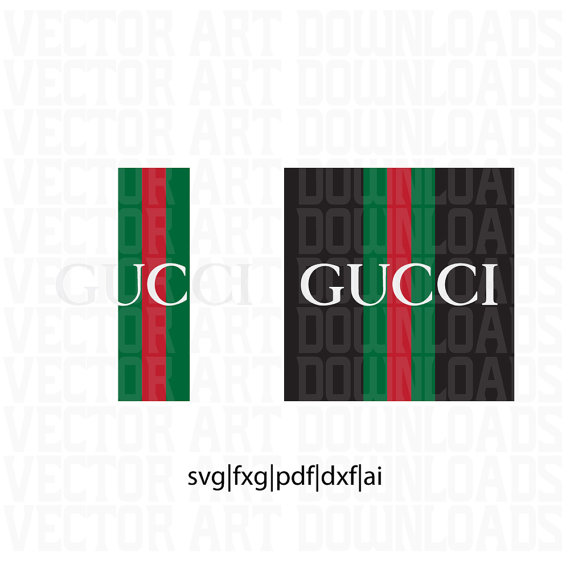 Gucci Vintage Inspired Logo 2 Pack Vector Art, svg dxf fxg pdf eps file  format from VectorArtDownloads on Etsy Studio - Gucci Logo Eps PNG