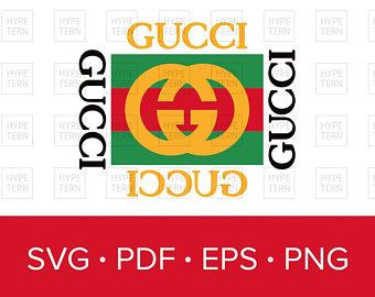 Gucci Vintage Inspired Logo Vector Art, SVG PDF EPS png format download - Gucci Logo Eps PNG