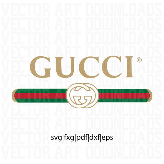 Gucci Washed Inspired Logo Vector Art, Svg Dxf Fxg Pdf Eps File Format - Gucci Logo Eps PNG