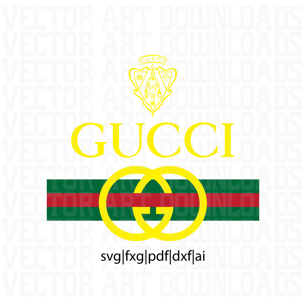 This Is A Digital File - Gucci Logo Eps PNG