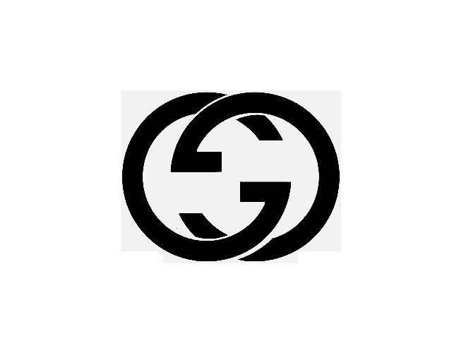 Black gucci clipart - Gucci Logo PNG