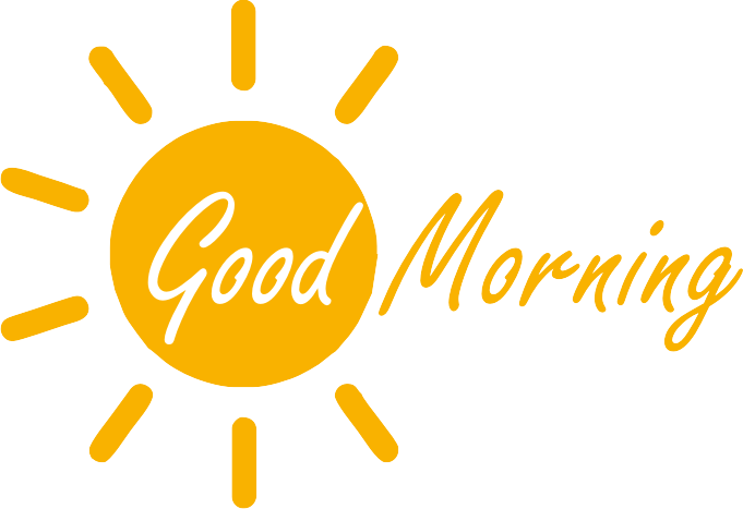 Gud Morning Logo - Good Morning PNG