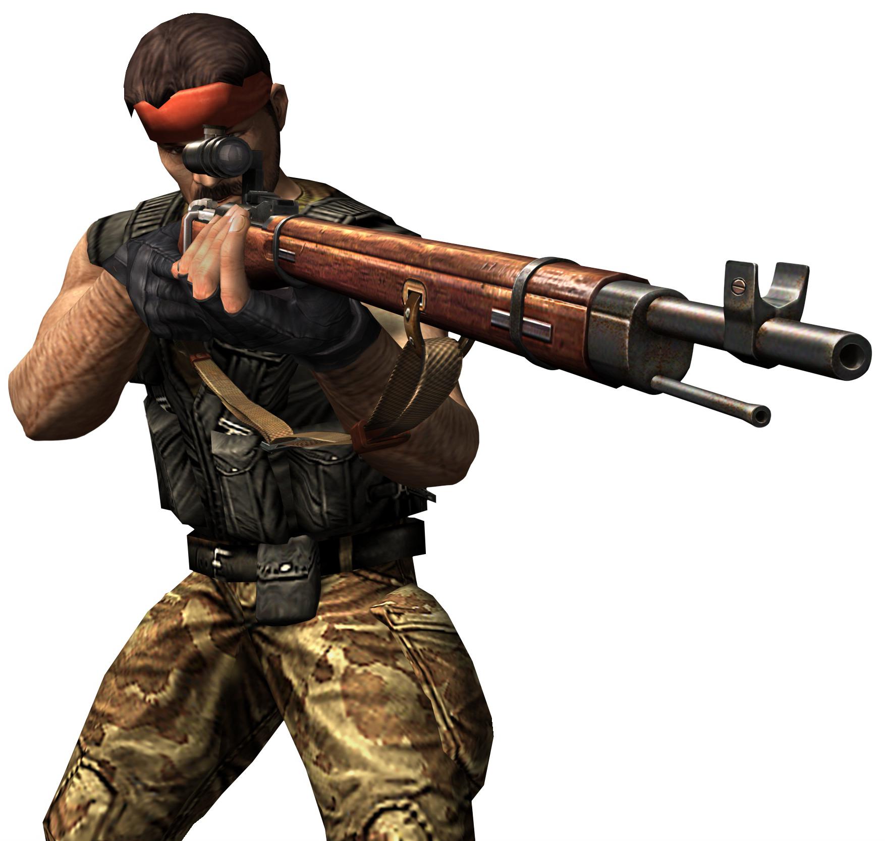 Guerilla wmosin.png - Counter Strike PNG