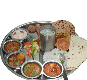 Gujarati Thali Deluxe Unlimited - Gujarati PNG