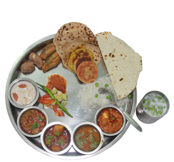 Gujarati Thali Reg. Unlimited - Gujarati PNG