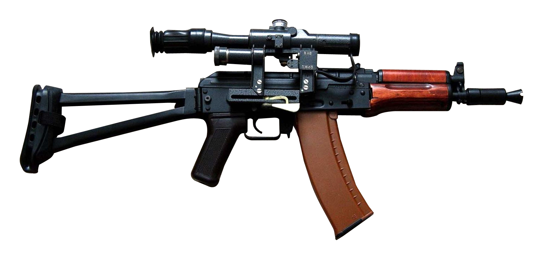 Assault Rifle Gun PNG Transparent Image - Gun PNG