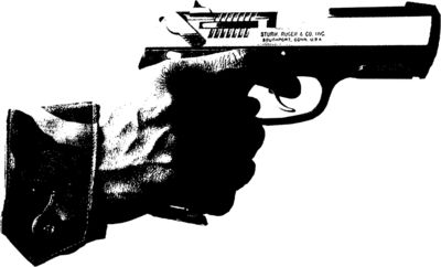 Black--white-gun-psd81666.png (400×242) | Printmaking - Kaio | Pinterest |  Printmaking - Gun PNG Black And White