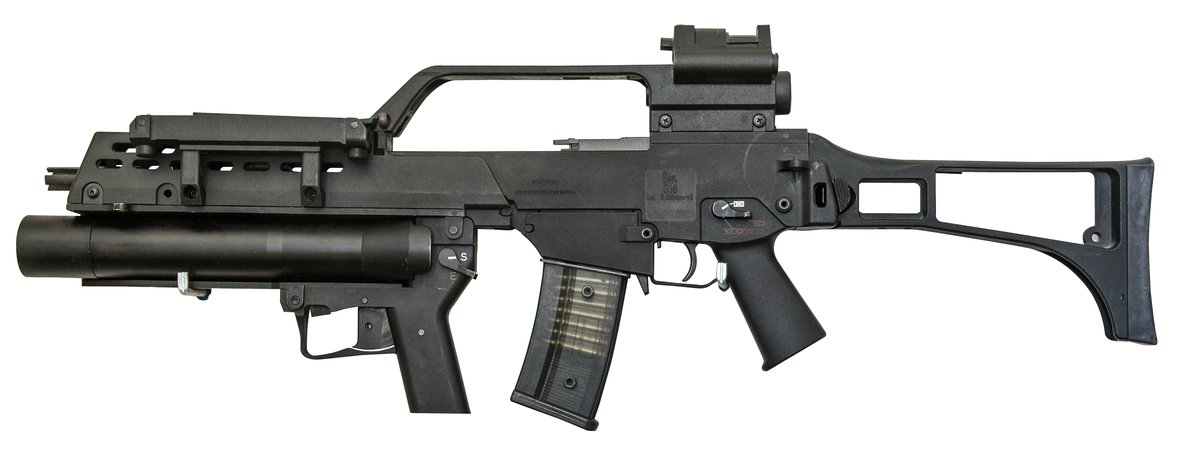 Grenade Launcher Gun PNG Transparent Image - Gun PNG