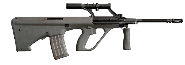 Stayer Assault rifle PNG - Gun PNG