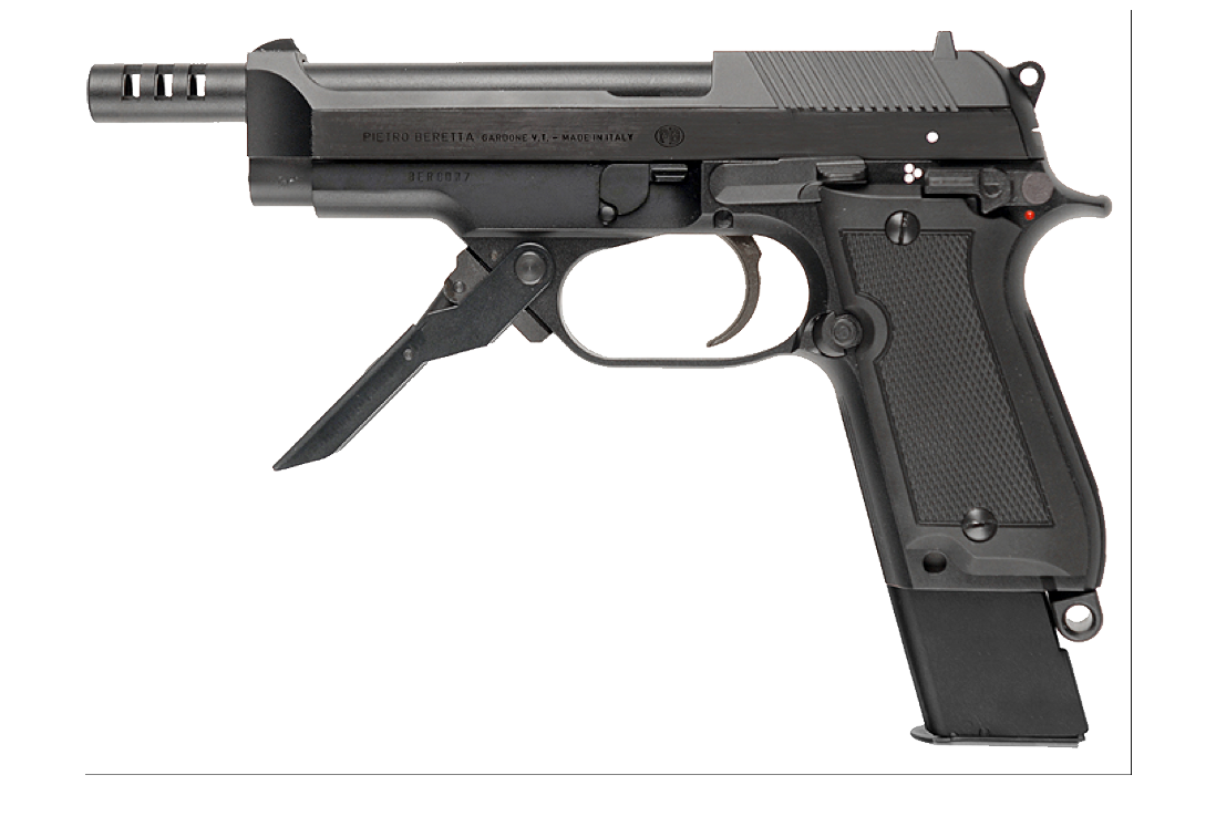 Beretta handgun PNG image - Gun PNG Transparent Background
