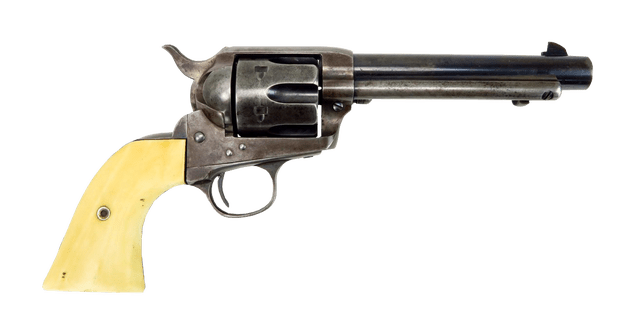 Colt revolver gun transparent background - Gun PNG Transparent Background