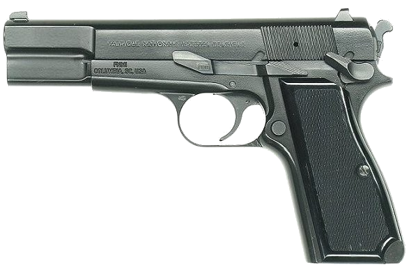 File:Pistol Browning SFS (transparent Background).png - Gun PNG Transparent Background
