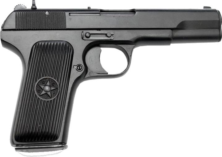 TT russian Handgun PNG image - Gun PNG
