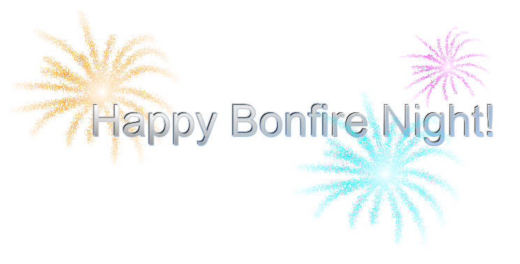 Our festive Bonfire Night icons - Guy Fawkes Night PNG