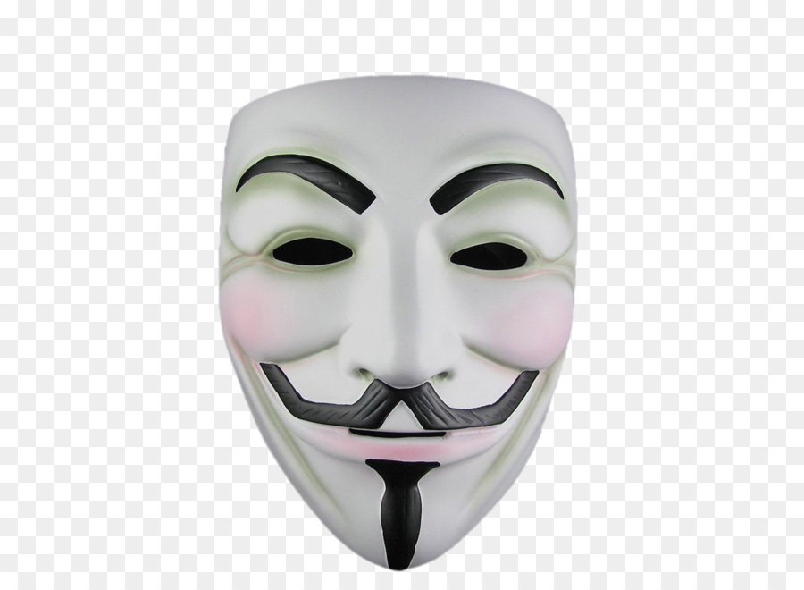 V for Vendetta Guy Fawkes mask Anonymous - Anonymous mask PNG - Guy Fawkes PNG