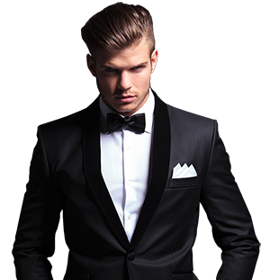 Groom suit PNG - Guy In A Suit PNG