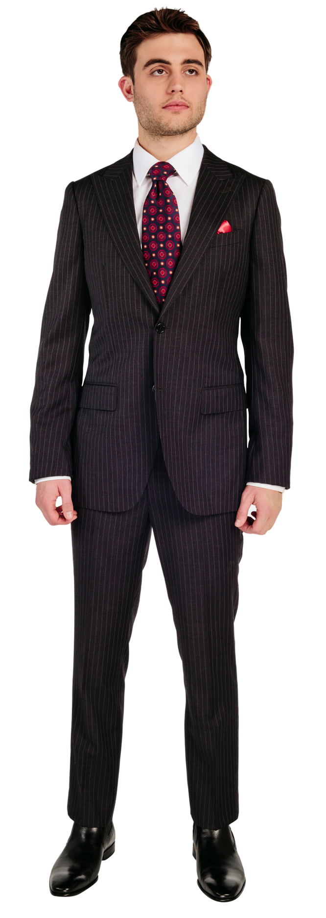 Groom Transparent PNG Sticker - Guy In A Suit PNG