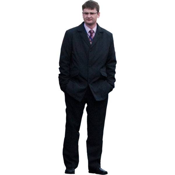 Guy In A Suit PNG - 159717