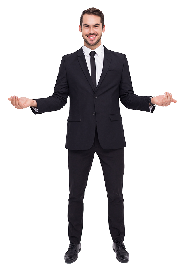 Guy In A Suit PNG - 159705