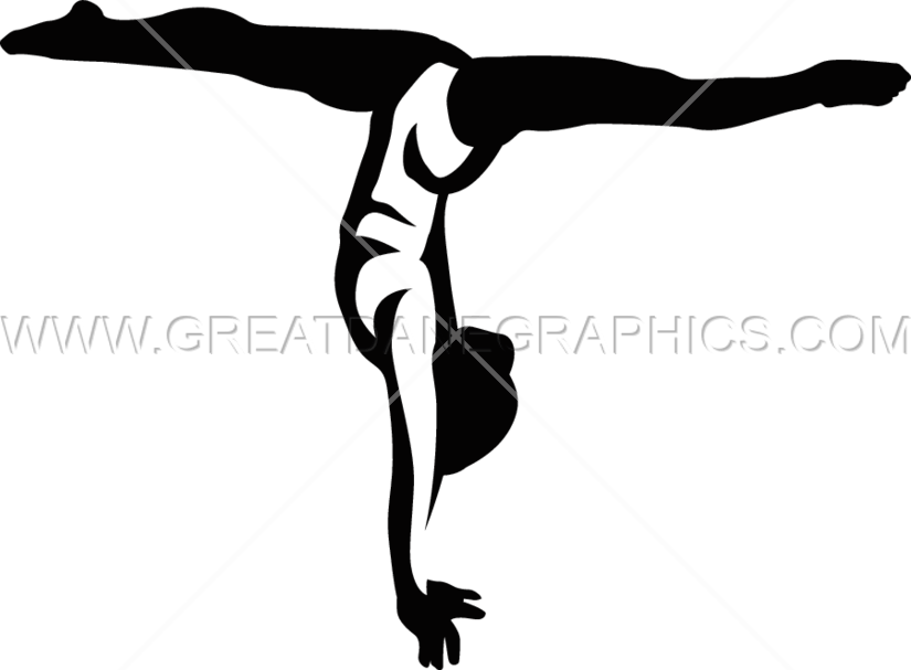 Gymnastic Splits - Gymnastics PNG Splits