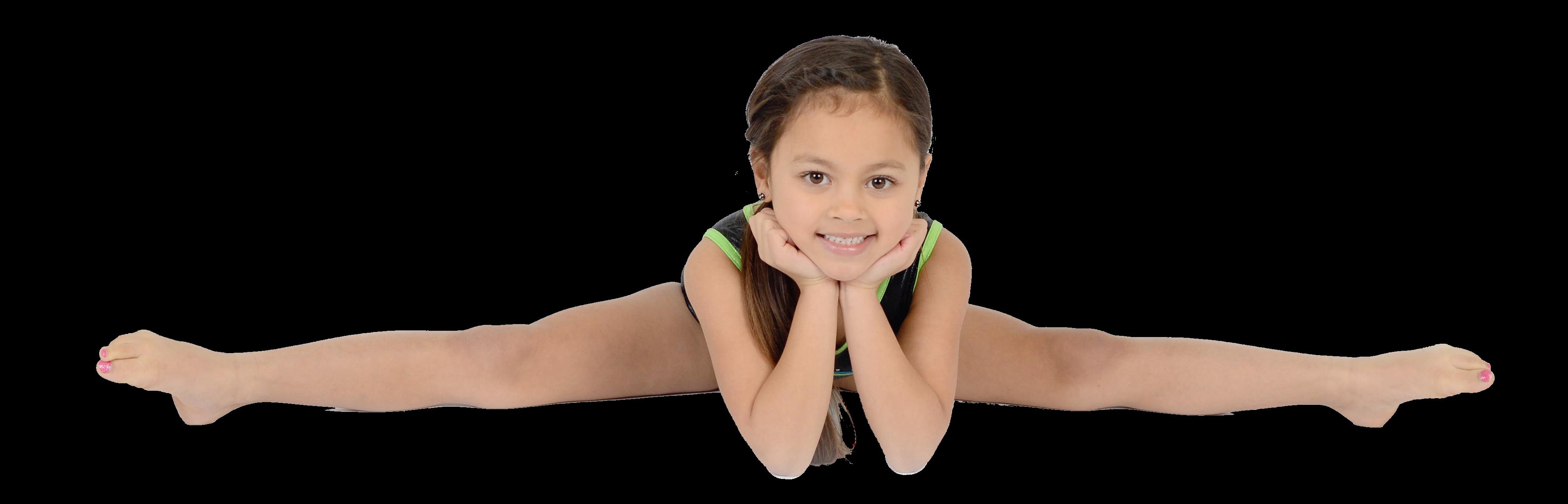 Gymnastics PNG Splits