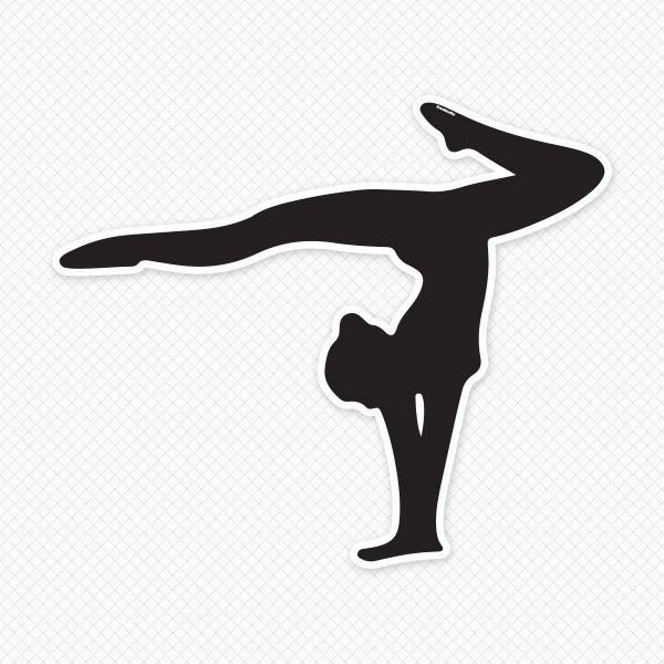 pin Gymnastics clipart gymnastics split #2 - Gymnastics PNG Splits
