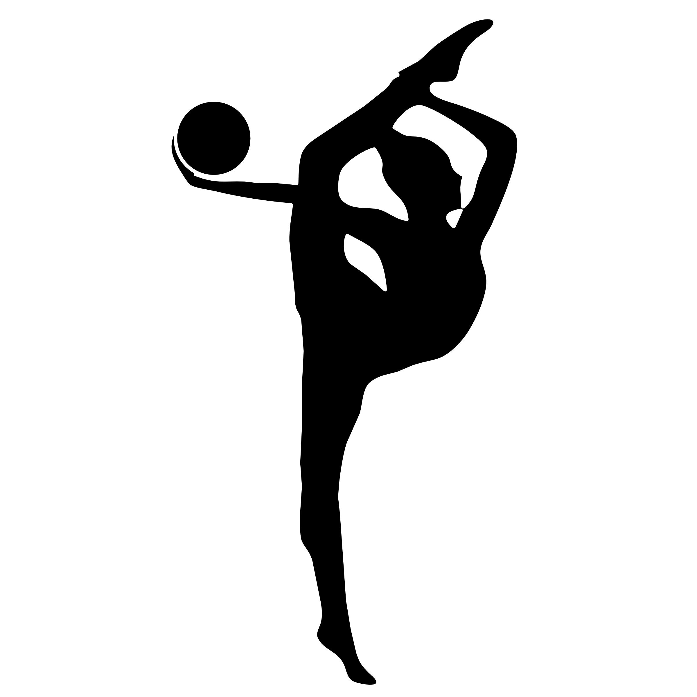 Clipart Info - Gymnastics PNG Vault